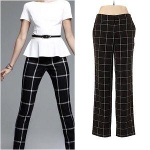 Mercer & Madison checkered dress pants size 4